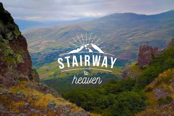 HIKEArmenia Stariway to Heaven