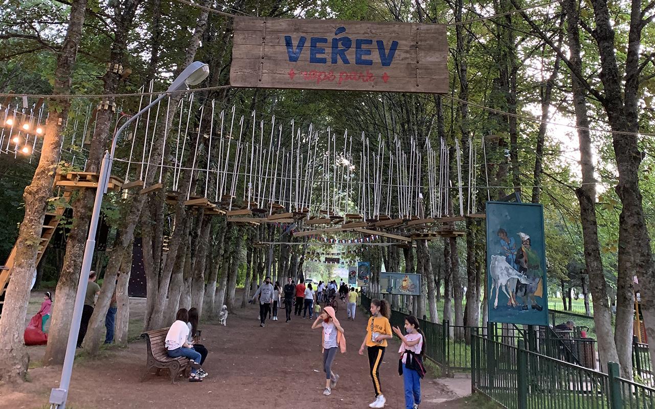 Verev Ropepark